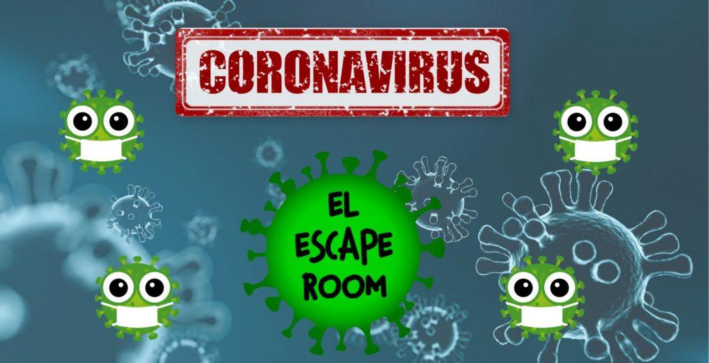coronavirus el escape room infantil