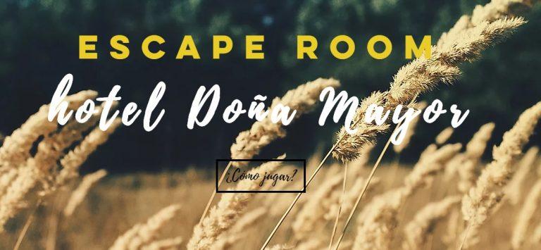 escape room doña mayor