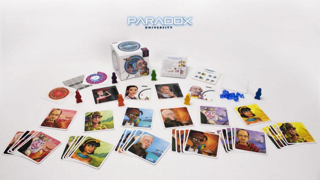 paradox university juego de mesa imprimir