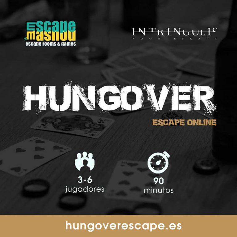 hungover online escape room