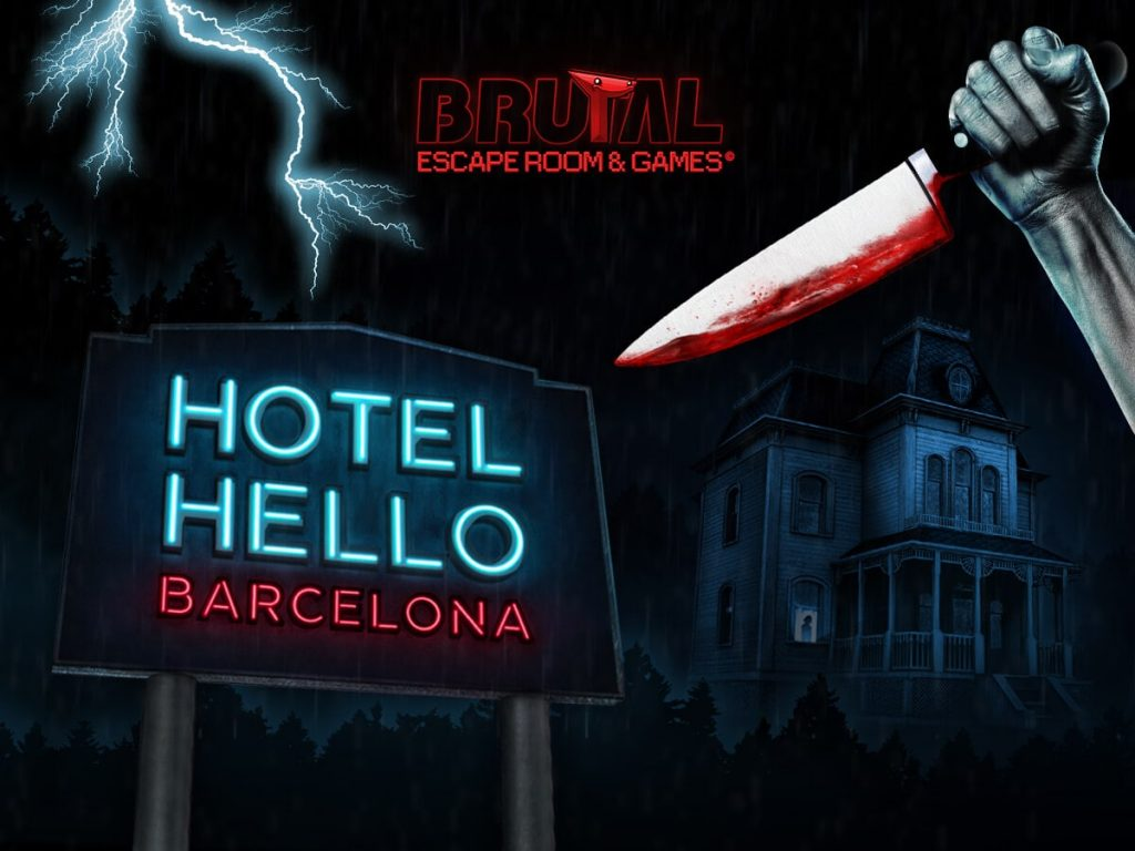hotel hello barcelona escape room battle royale 4x3 min