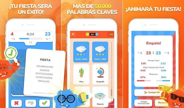 Los mejores juegos Android para fiestas y reuniones familiares eTABU min